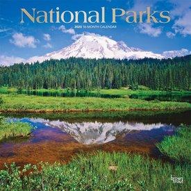 Browntrout National Parks Kalender 2020