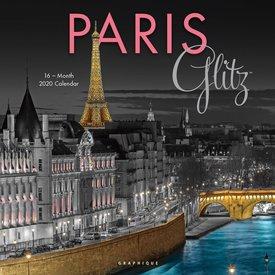 Graphique de France Paris Glitz Kalender 2020