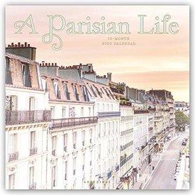 Graphique de France A Parisian Life Kalender 2020