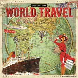 Carousel World Travel Kalender 2020