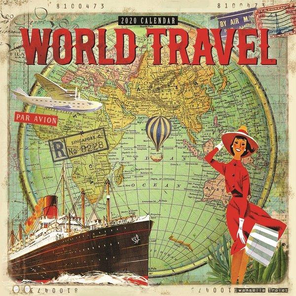 Carousel World Travel Kalender 2020