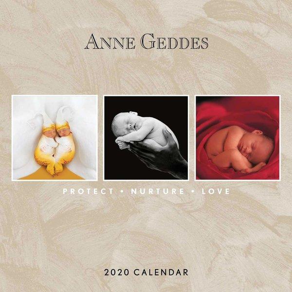Andrews McMeel Anne Geddes Protect Nurture Love Kalender 2020