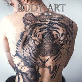 The Gifted Stationery Body Art Kalender 2020