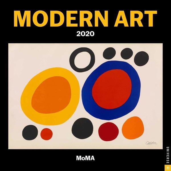 Universe Publishing Moderne Kunst - Modern Art Kalender 2020