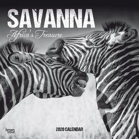 Browntrout Die Savanne Kalender 2020