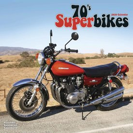 Avonside 70's Superbikes Kalender 2020