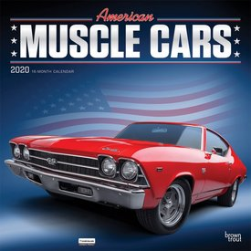 Browntrout American Muscle Cars Kalender 2020