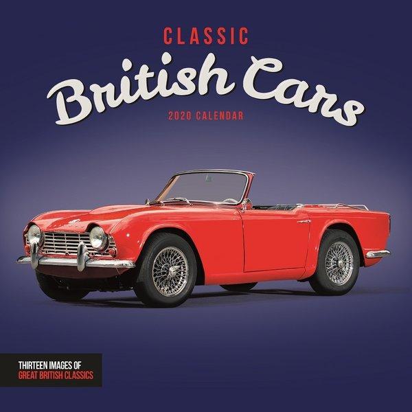 Carousel Classic British Cars Kalender 2020