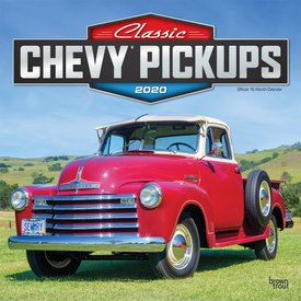 Browntrout Classic Chevy Pickups Kalender 2020