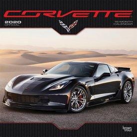 Browntrout Corvette Kalender 2020