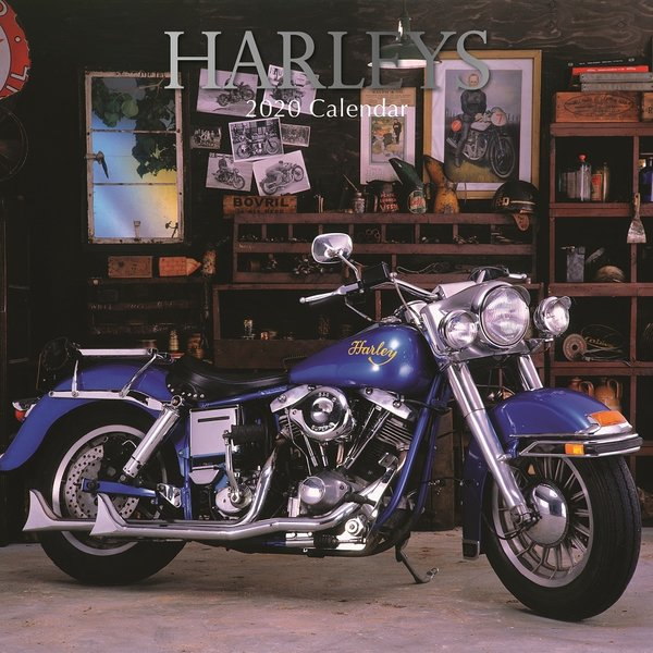 The Gifted Stationery Harleys - Harley Davidson Kalender 2020