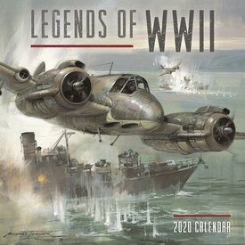 Carousel Legends of WWII Kalender 2020