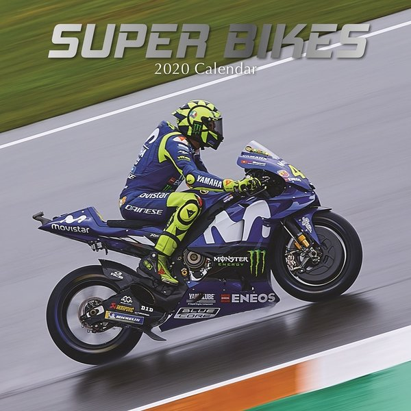 The Gifted Stationery Motoren - Super Bikes Kalender 2020