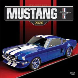Browntrout Ford Mustang 2020 Kalender