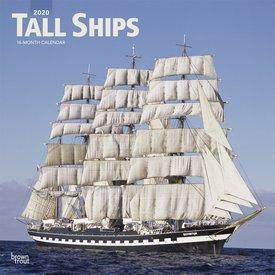 Browntrout Zeilschepen - Tall Ships Kalender 2020