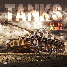 Browntrout Panzer Kalender 2020