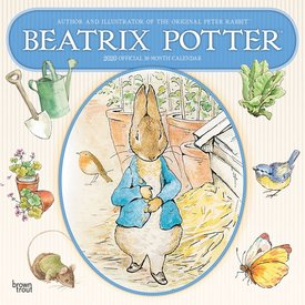 Browntrout Peter Rabbit - Beatrix Potter Kalender 2020
