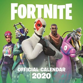 Epic Games Fortnite Calendar 2020