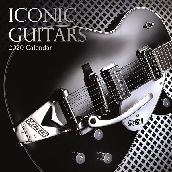 The Gifted Stationery Kultgitarren - Iconic Guitars Kalender 2020