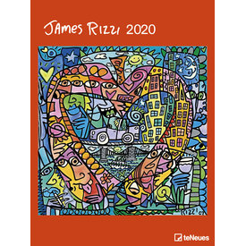 teNeues James Rizzi Posterkalender 2020