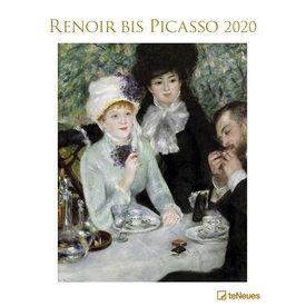 teNeues Renoir bis Picasso Posterkalender 2020