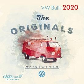 teNeues Volkswagen - VW Bulli Mini Kalender 2020