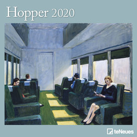teNeues Edward Hopper Kalender 2020