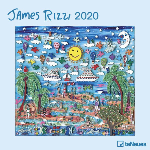 teNeues James Rizzi Kalender 2020