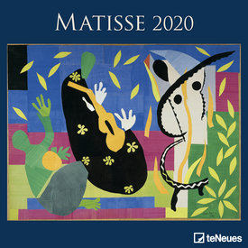teNeues Henri Matisse Kalender 2020