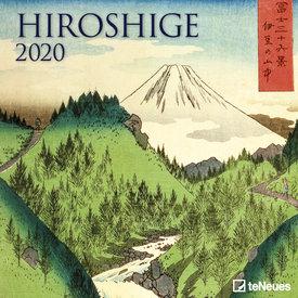 teNeues Hiroshige 2020 Kalender