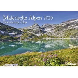 teNeues Alpen - Fascinating Alps Kalender 2020