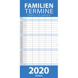 teNeues Blue Familieplanner 2020