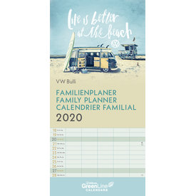 teNeues Volkswagen - VW Bulli Familienplaner 2020