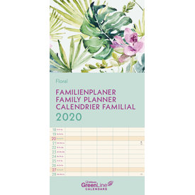teNeues Floral Familieplanner 2020