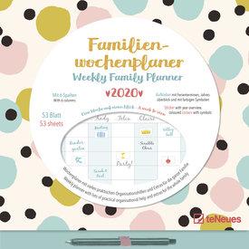teNeues Dots Wekelijkse Familieplanner 2020