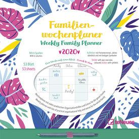 teNeues Flowers Wekelijkse Familieplanner 2020
