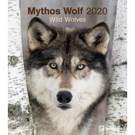 teNeues Wölfe - Mythos Wolf Kalender 2020
