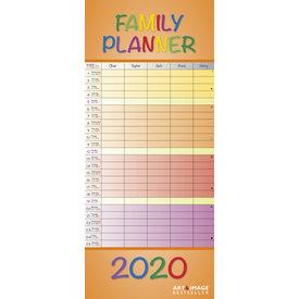 teNeues Schöne Farben Familienplaner 2020