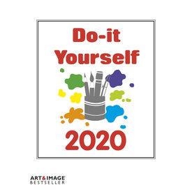 teNeues Do-It-Yourself Weiß 24x31 Kalender 2020