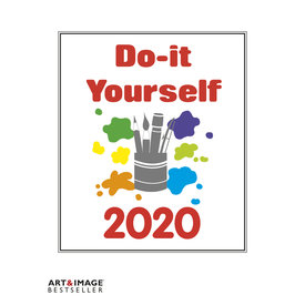 teNeues Do-It-Yourself Wit 24x31 Kalender 2020