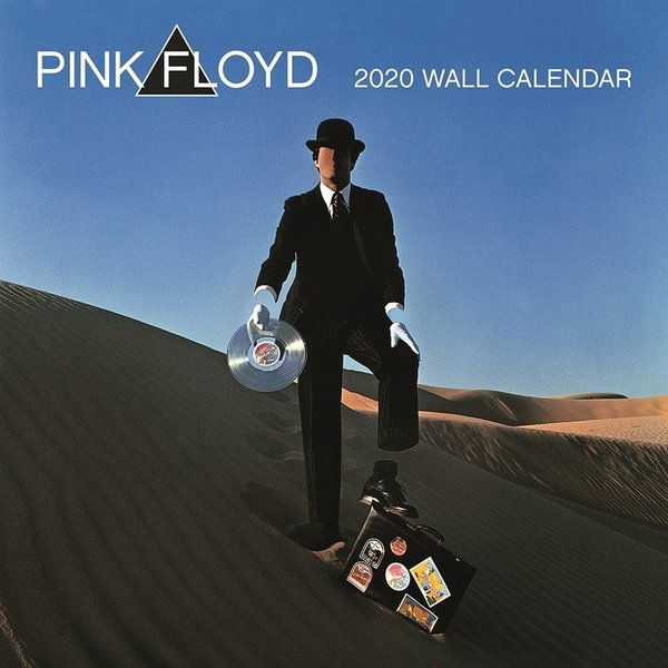 Pyramid Official Pink Floyd Kalender 2020