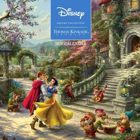 Andrews McMeel Thomas Kinkade The Disney Dreams Collection Kalender 2020