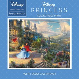 Andrews McMeel Thomas Kinkade Collectible Print Princess Kalender 2020