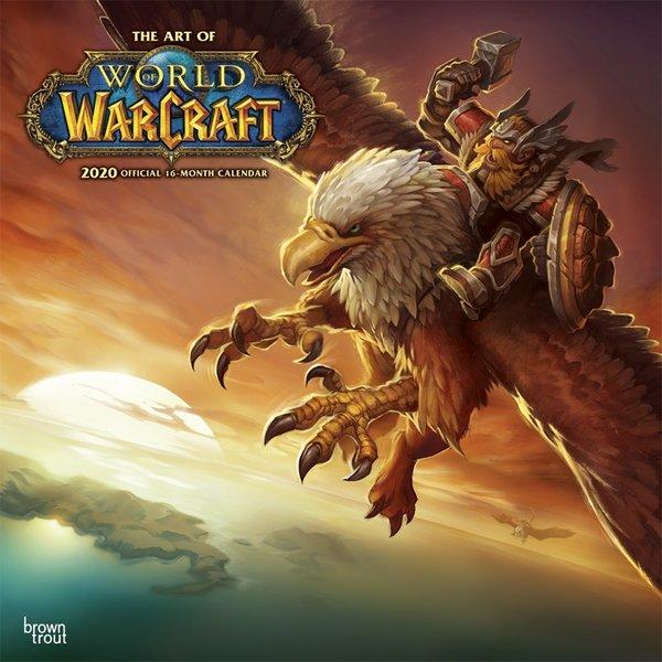 Browntrout World of Warcraft Kalender 2020