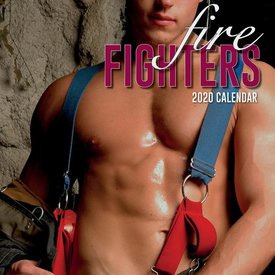 The Gifted Stationery Feuerwehrmänner - Firefighters Kalender 2020