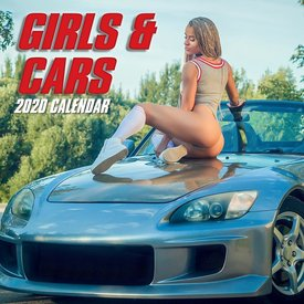 The Gifted Stationery Girls & Cars Kalender 2020