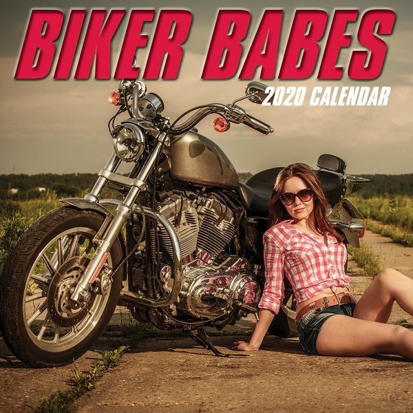 The Gifted Stationery Biker Babes Kalender 2020