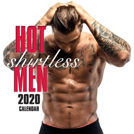 The Gifted Stationery Shirtless Men Kalender 2020