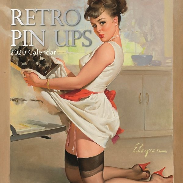 The Gifted Stationery Retro Pin Ups Kalender 2020
