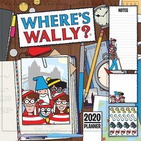 Carousel Where's Wally Household Planner 2020